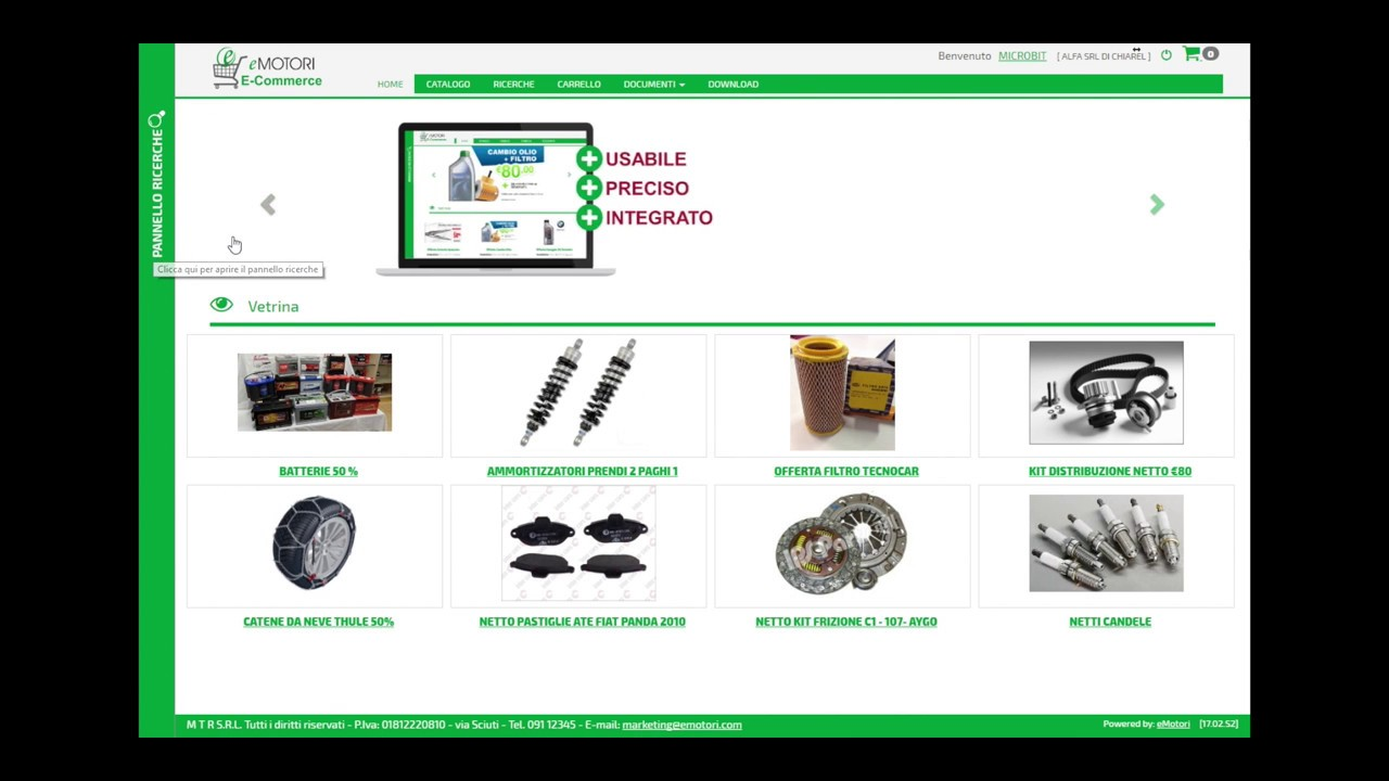 La piattaforma e-commerce B2B di eMotori si aggiorna