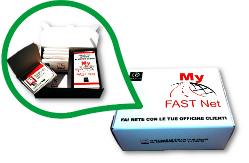 Un packaging per My Fast Net