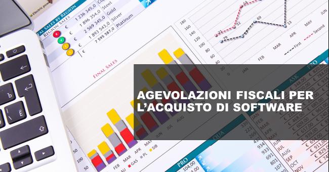 Agevolazioni fiscali per l'acquisto di soluzioni software