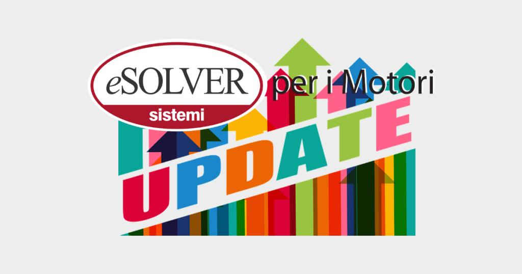 Aggiornamento software gestionale eSOLVER per i Motori giu 2019 1200x630
