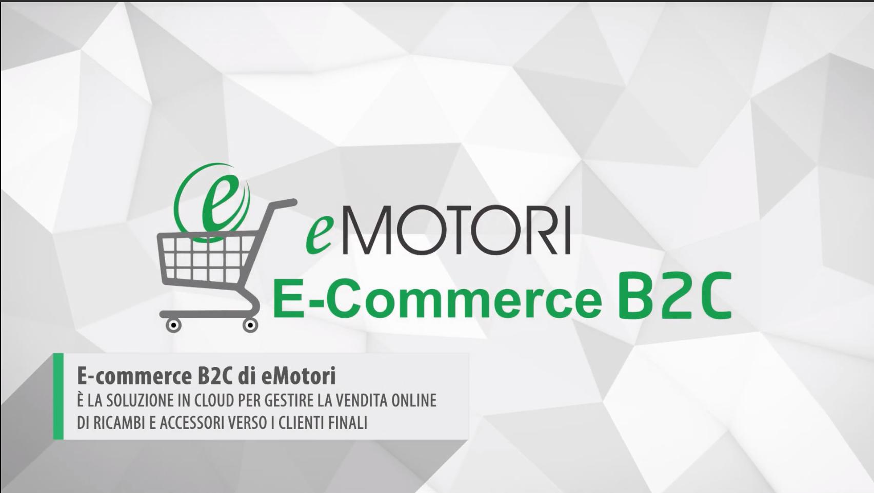 L'e-commerce B2C di eMotori: caratteristiche e vantaggi
