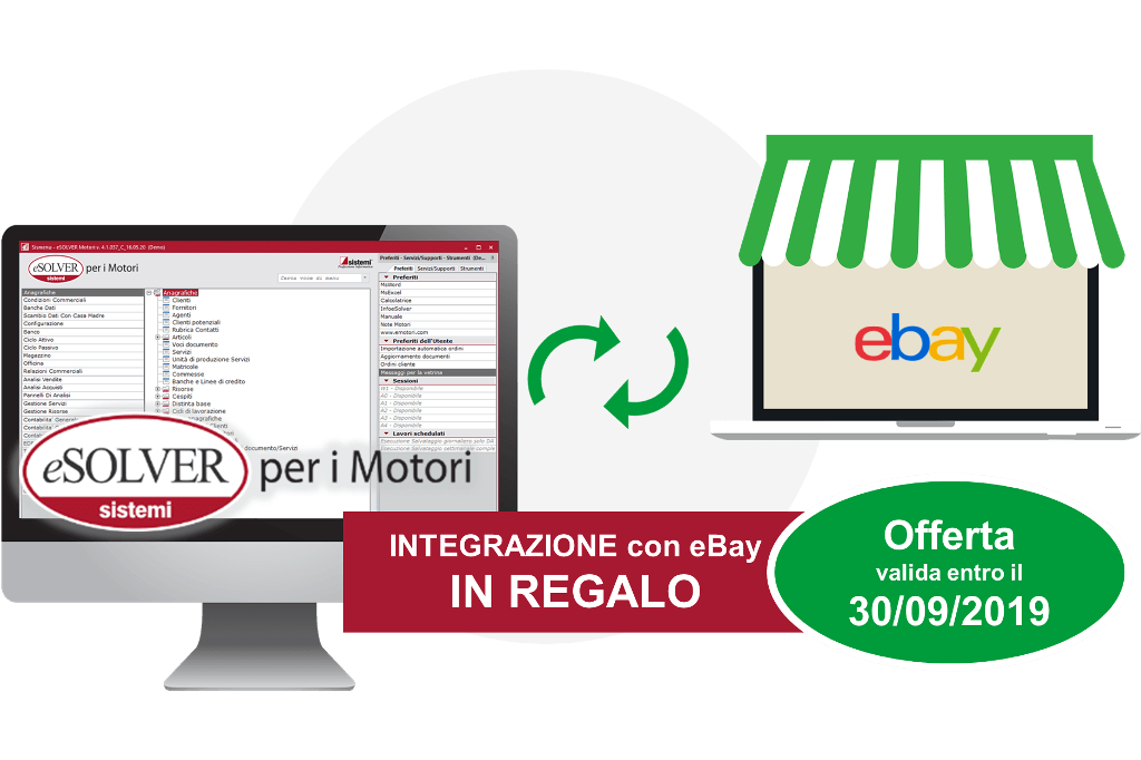 Integrazione gestionale eSOLVER eBay