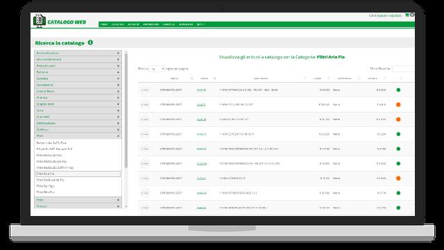 Catalogo web ricambi eMotori