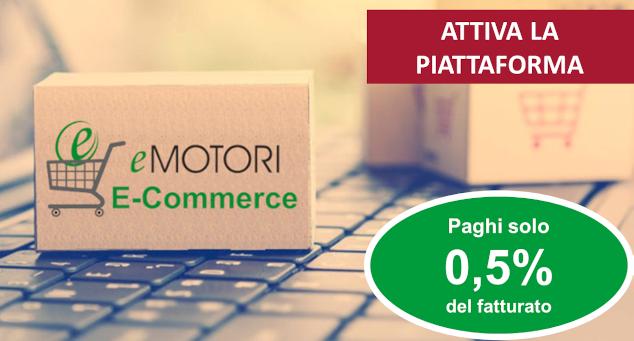 piattaforma e-commerce vendita online ricambi