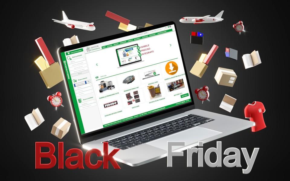 Preparati al Black Friday anche nel settore ricambi