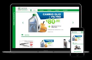 Piattaforma ecommerce B2C eMotori responsive